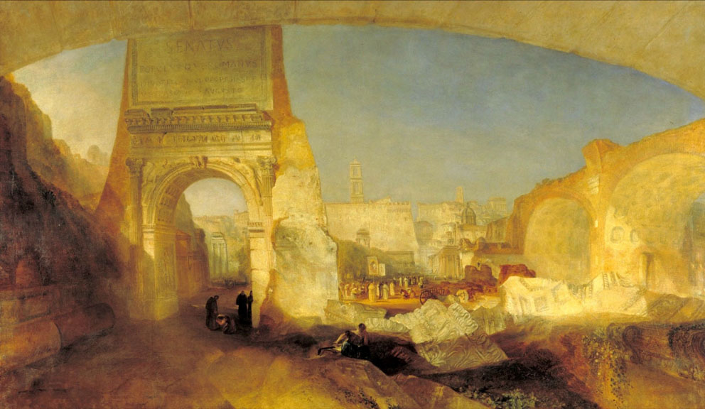 Joseph Mallord William Turner - Forum Romanum, for Mr Soane's Museum