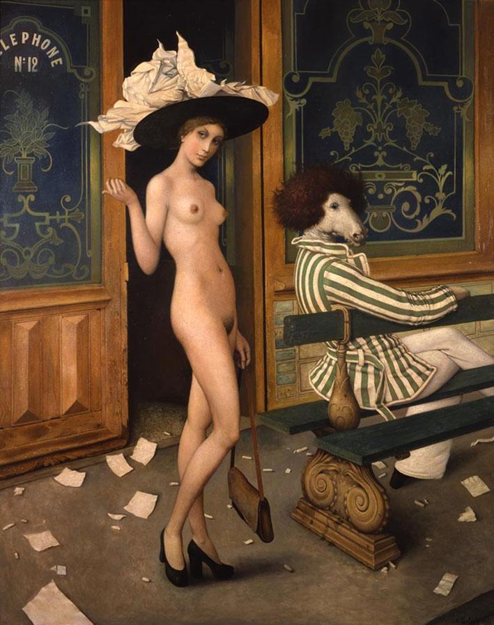 Claude Verlinde 1927 - French Surrealist painter - Tutt'Art@ (3)