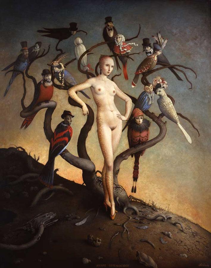 Claude Verlinde 1927 - French Surrealist painter - Tutt'Art@ (1)