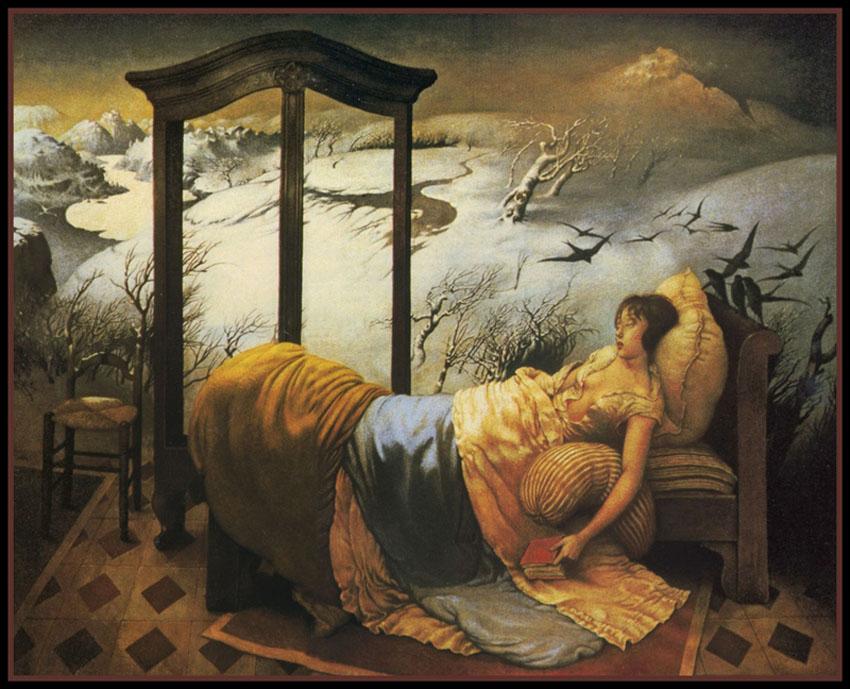 Claude Verlinde 1927 - French Surrealist painter - Tutt'Art@ (2)