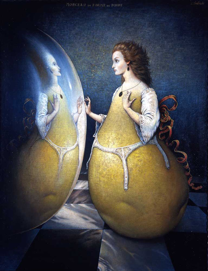 Claude Verlinde 1927 - French Surrealist painter - Tutt'Art@ (14)