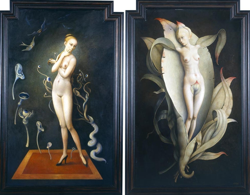Claude Verlinde 1927 - French Surrealist painter - Tutt'Art@ (17)
