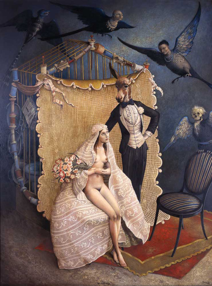 Claude Verlinde 1927 - French Surrealist painter - Tutt'Art@ (25)