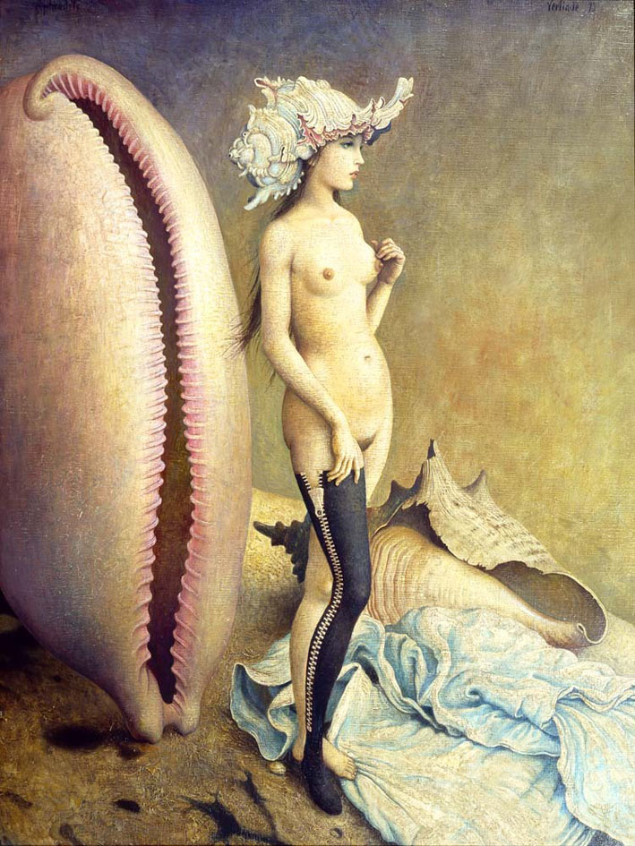 Claude Verlinde 1927 - French Surrealist painter - Tutt'Art@ (27)
