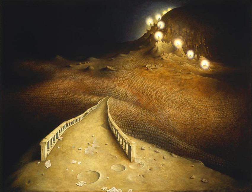 Claude Verlinde 1927 - French Surrealist painter - Tutt'Art@ (28)