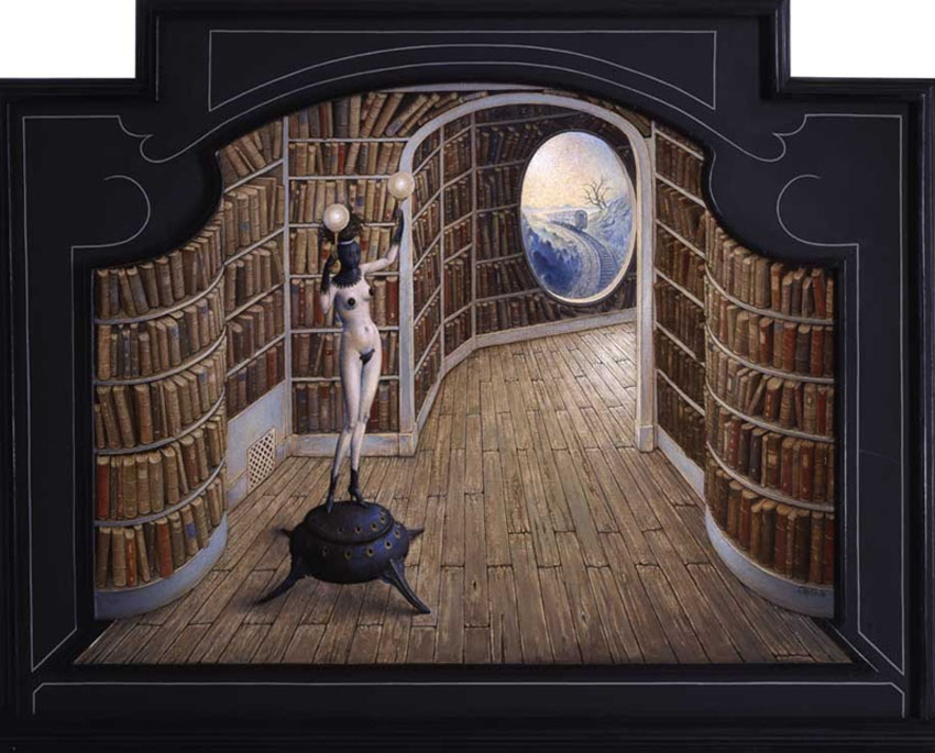 Claude Verlinde 1927 - French Surrealist painter - Tutt'Art@ (30)