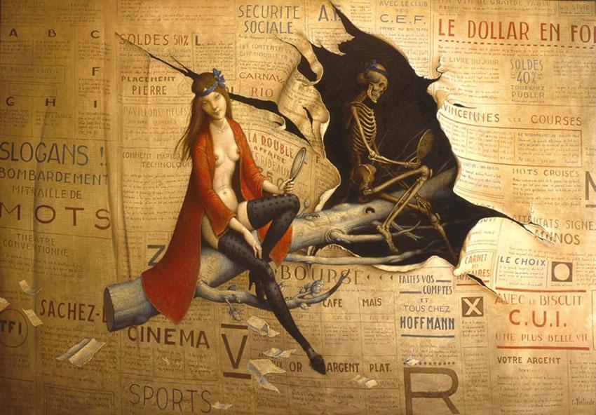 Claude Verlinde 1927 - French Surrealist painter - Tutt'Art@ (34)