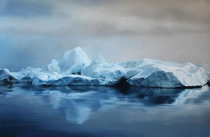 Pastel-Icebergs-by-Zaria-Forman-5-640x419