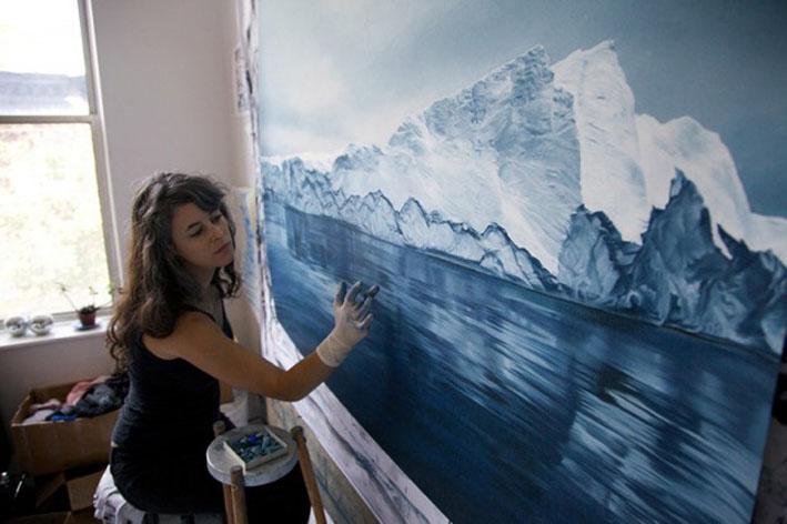 Pastel-Icebergs-by-Zaria-Forman-15-640x426
