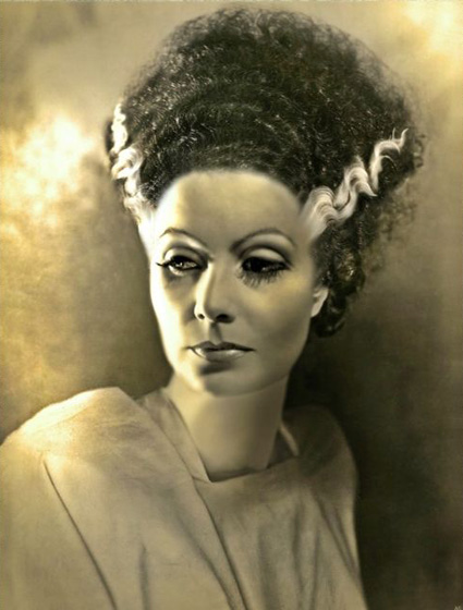 Greta Garbo As Frankenstein's Bride