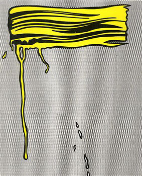 Roy Lichtenstein Brushstrokes