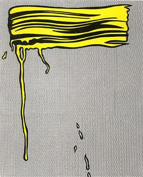 Roy Lichtenstein Brushstrokes