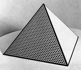 Roy Lichtenstein, Pyramid, 1968