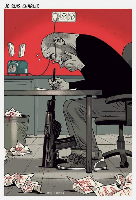 llustration by Israeli cartoonist Asaf Hanuka.