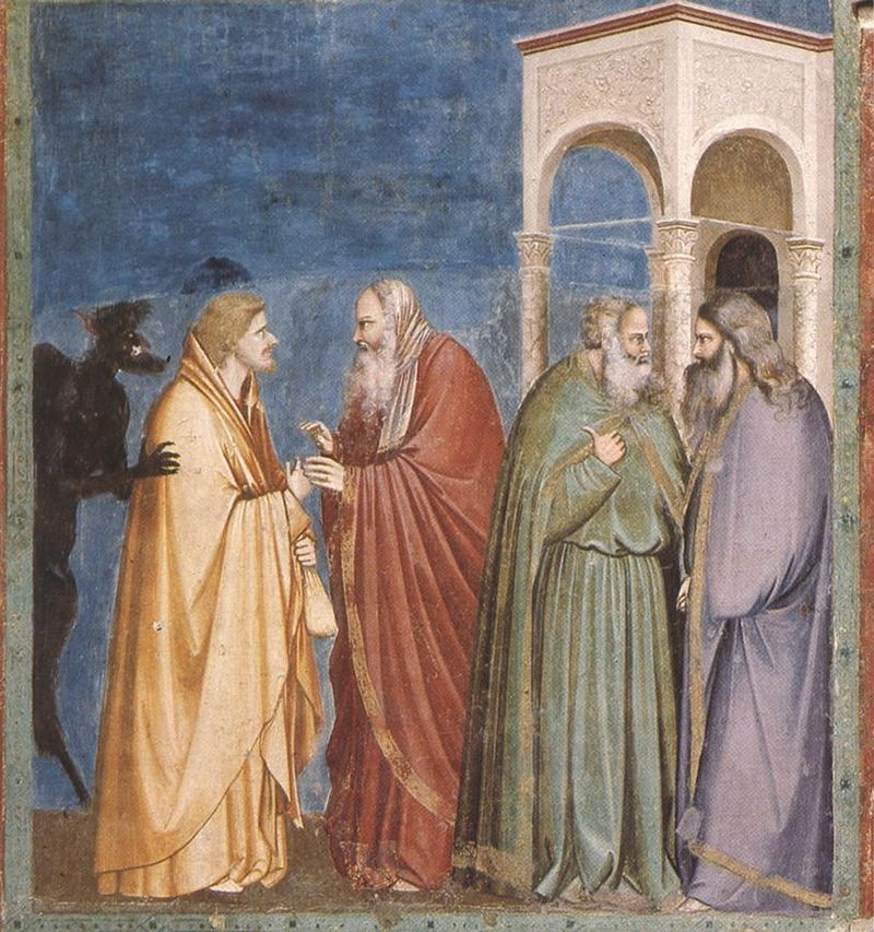 Giotto_-_Scrovegni_-_-28-_-_Judas_Receiving_Payment_for_his_Betrayal