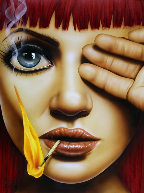 Playing With Fire-Scott Rohlfs Art