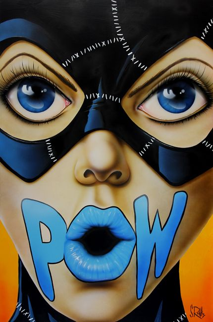 POW!- Scott Rohlfs Art
