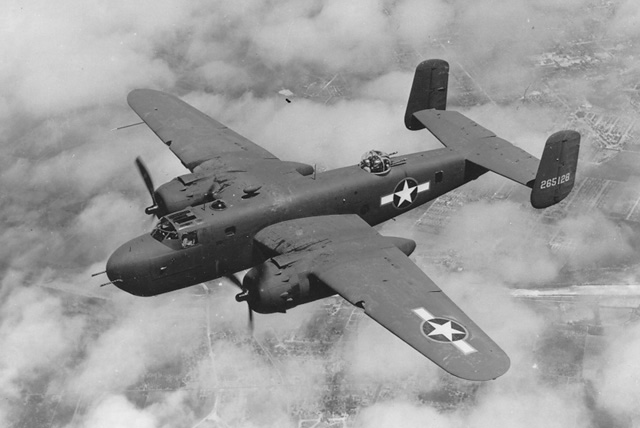 North_American_B-25_Mitchell-«North American B-25 Mitchell». Под лицензией Общественное достояние с сайта Викисклада - httpscommons.wikimedia.orgwikiFileNorth_American_B-25_Mitchell.JPG#mediaFileNorth_American_B-25_Mitchell.JP