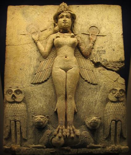 Representación de Ishtar Ianna en el Museo Británico.