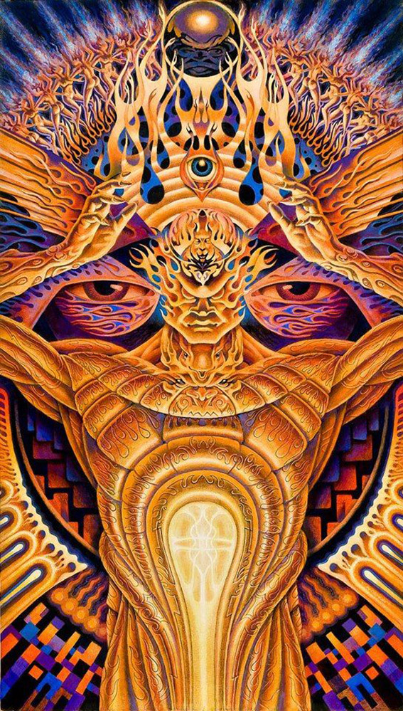 Art by Alex Grey.