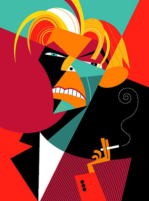 David Bowie by Pablo Lobato
