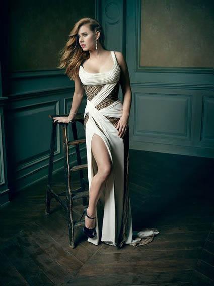 Amy Adams - Mark Seliger's Vanity Fair Oscar Party Portrait Studio