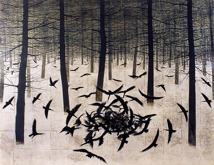 Matazo Каяма (1927-2004) родился в Киото, в семье дизайнера кимоно.