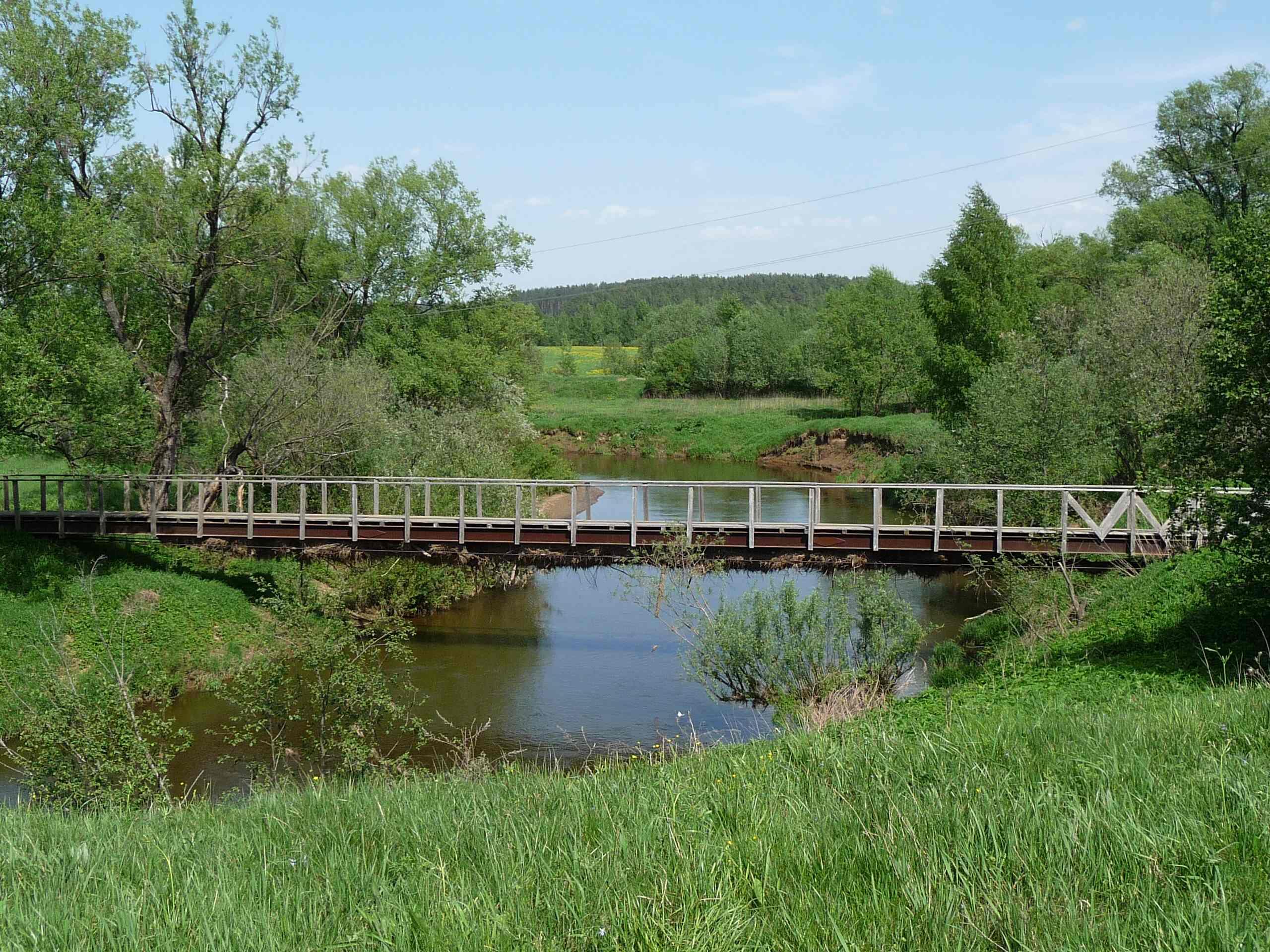 Мост через Ворю около Кармолино