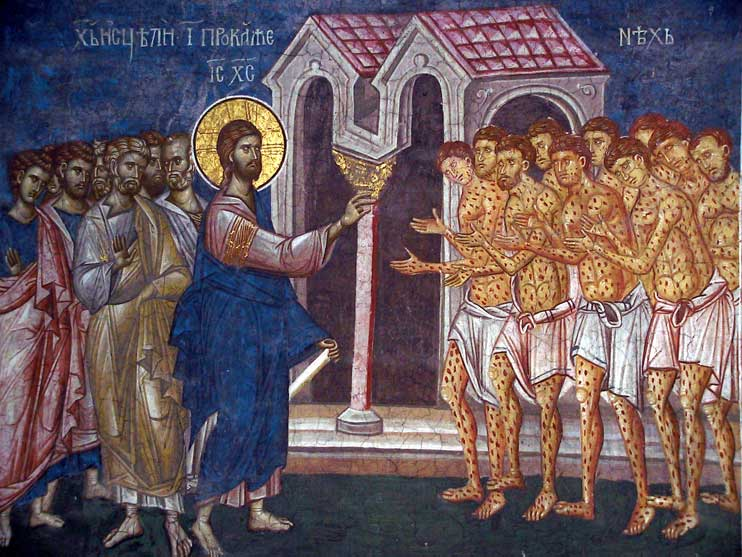 фрески монастыря Високи Дечани