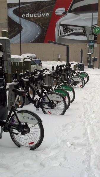 Снег в Торонто