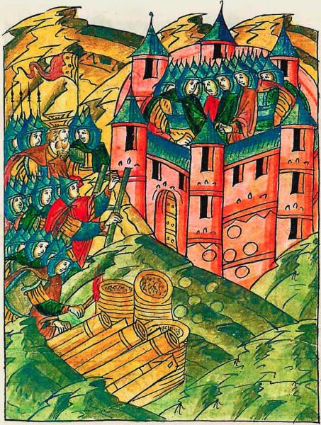 25 Осада Опочки кн.К.И.Острожским в 1517 г..jpg