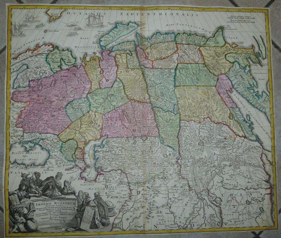Карта 1720