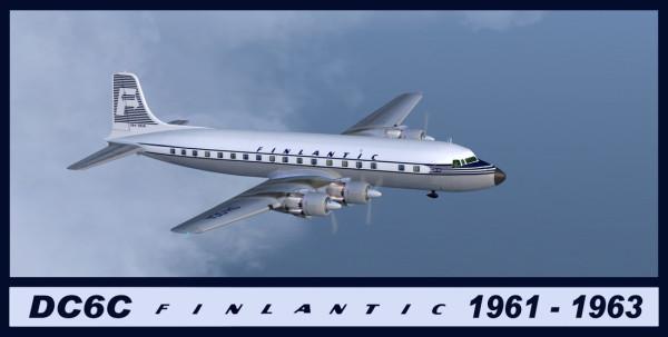Leino DC-6AB OH-DCA FltSim -0