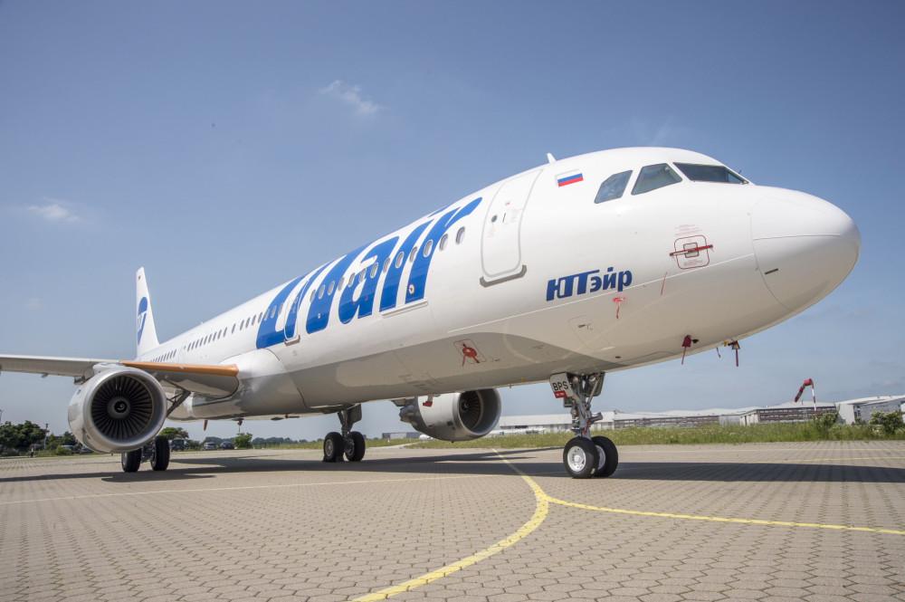 Как над первым Airbus A321 UTair художники работали - alexx72