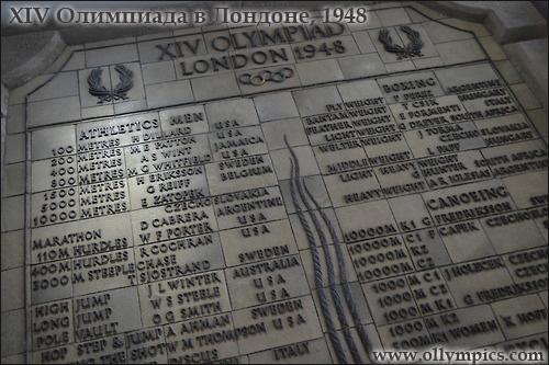 XIV Олимпиада в Лондоне, 1948
