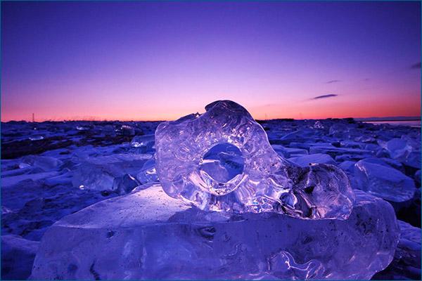 Речной лед Токачи