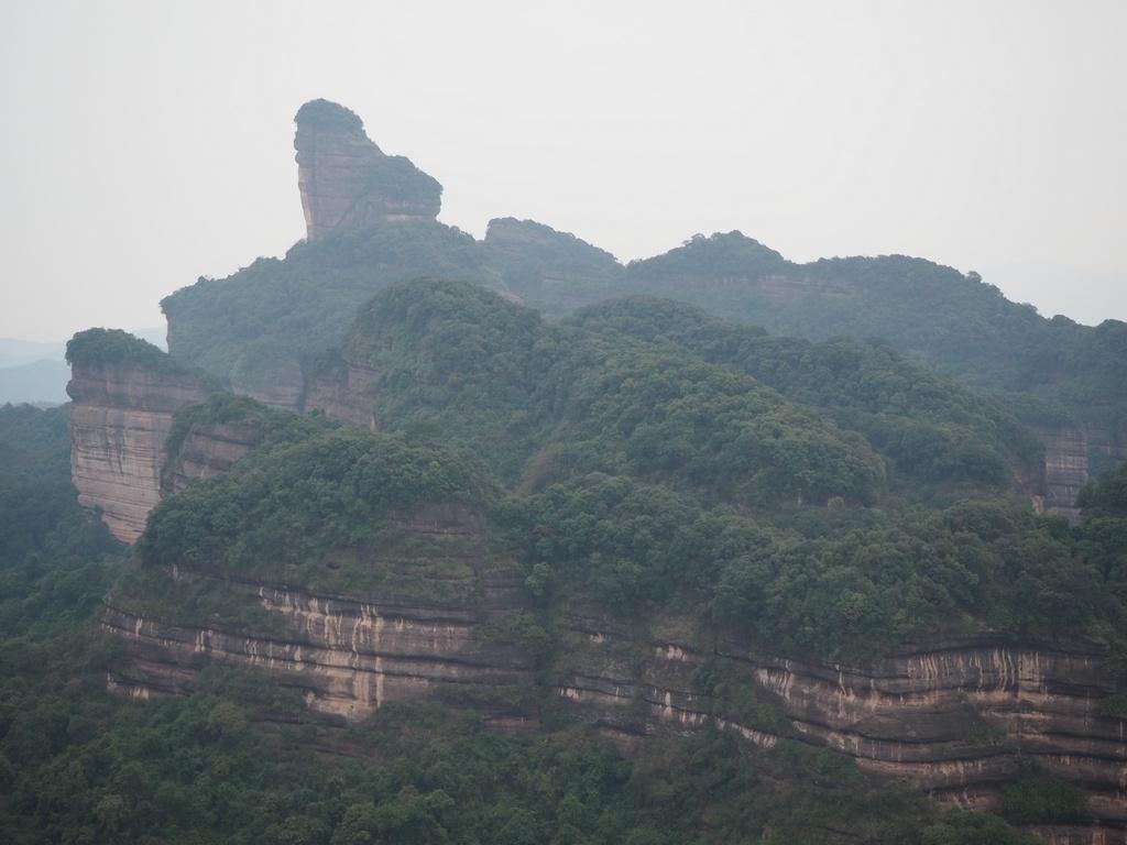 Shaoguan, Danxia Mountain, Elder Peak. Шаогуань, гора Данься, вершина. Часть 1.: algaedo