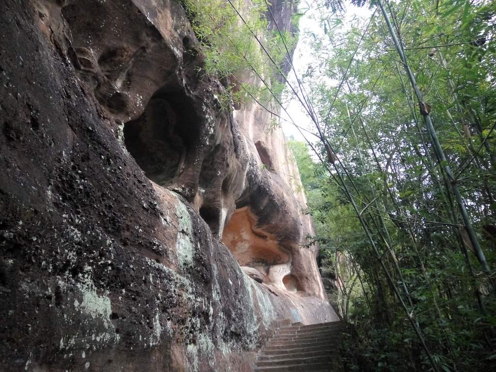 Shaoguan, Danxia Mountain. Шаогуань, гора Данься, храмы. Часть 2.: algaedo