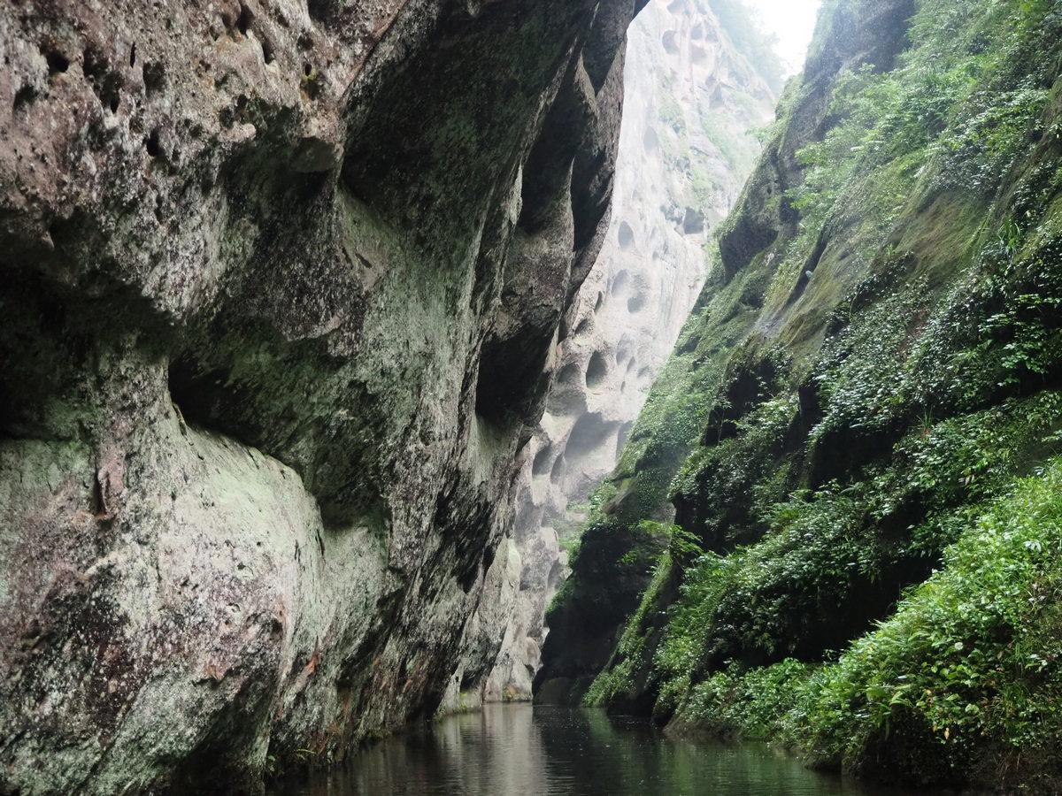 Тайнин 3. Сплав Jiulongtan. : algaedo