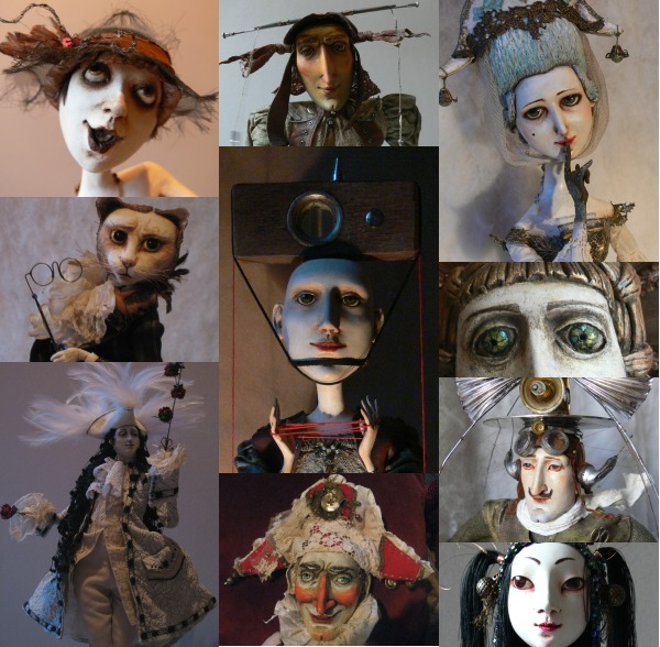 Мамины куклы-коллаж
