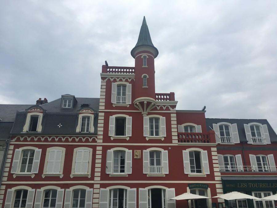 Le Crotoy. Французское село. Коровы, лошади, птицы, Жюль Верн и Жанна Д'Арк