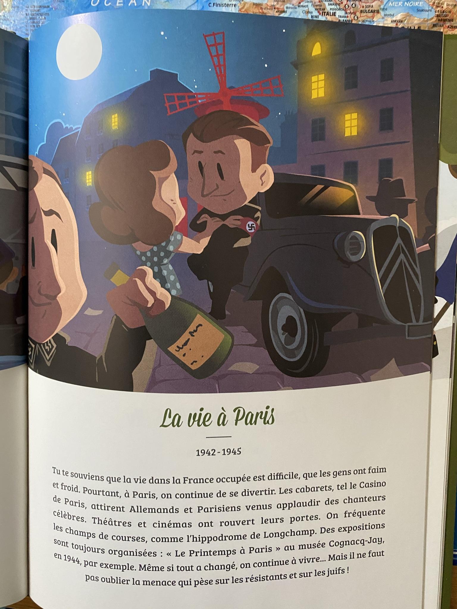 Жизнь в Париже в период оккупации