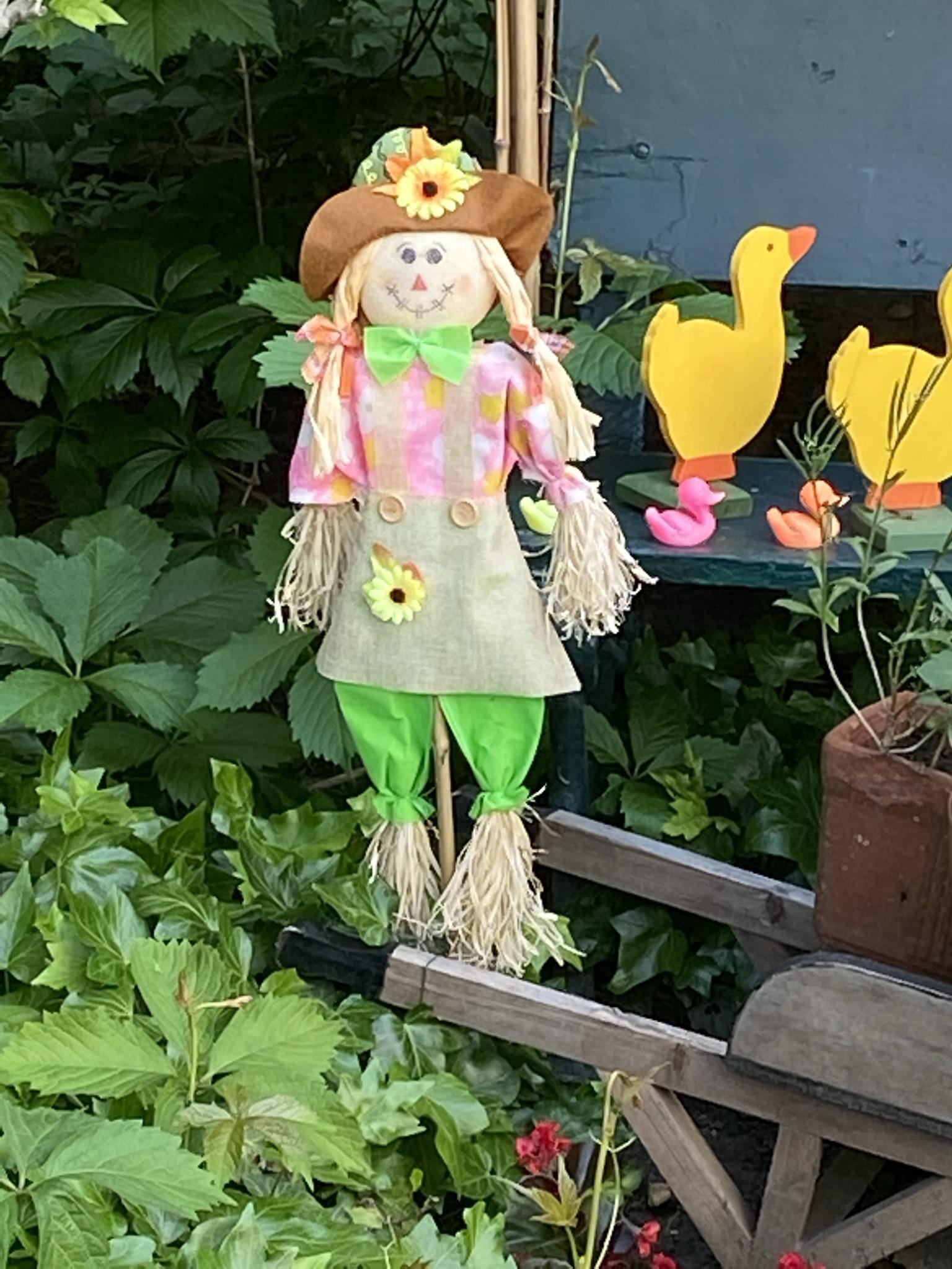 3. Кукла с косичками