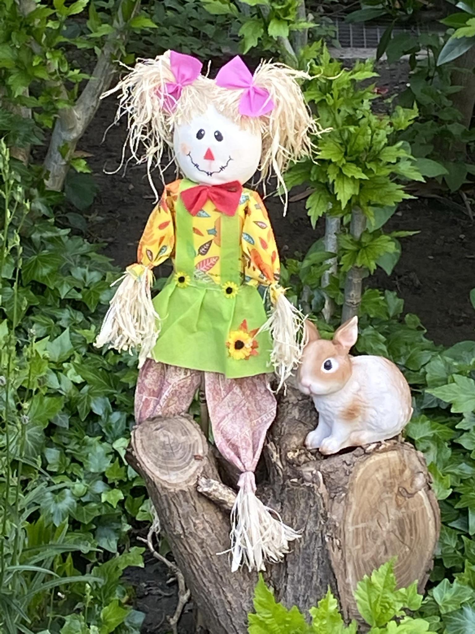 4. Кукла с бантиками
