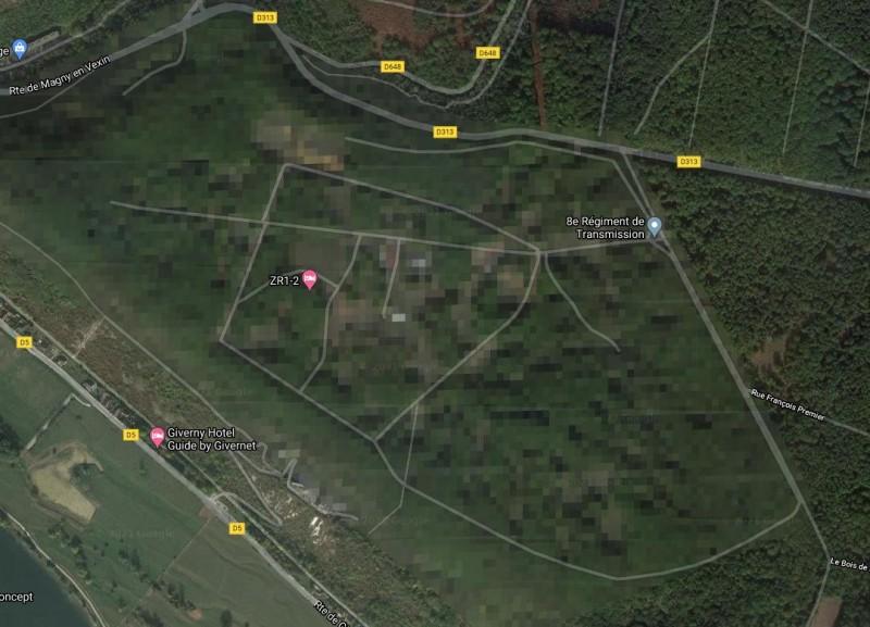 52 Google Map — изображение секретного объекта