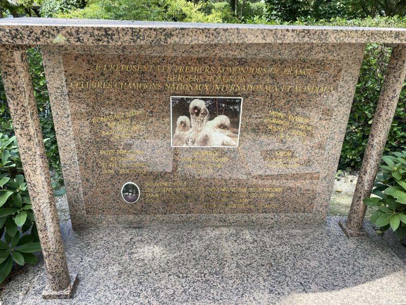 10. Могила первых венгерских овчакрок во Франции