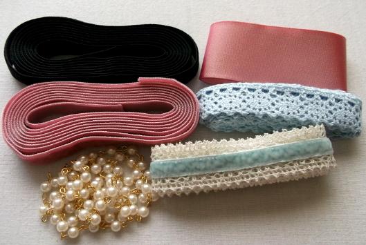 Ribbons and pearls