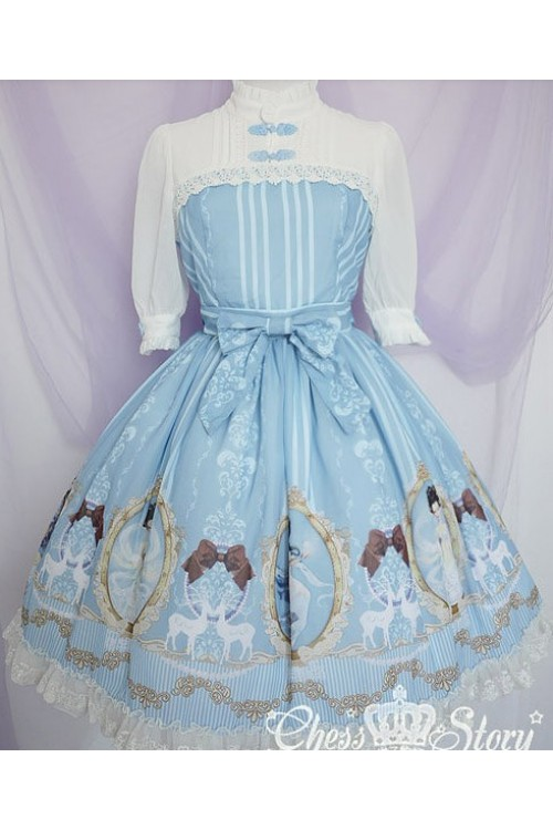 chess-story-fairy-in-the-air-middle-sleeves-chiffon-lolita-dress-1-cs-24