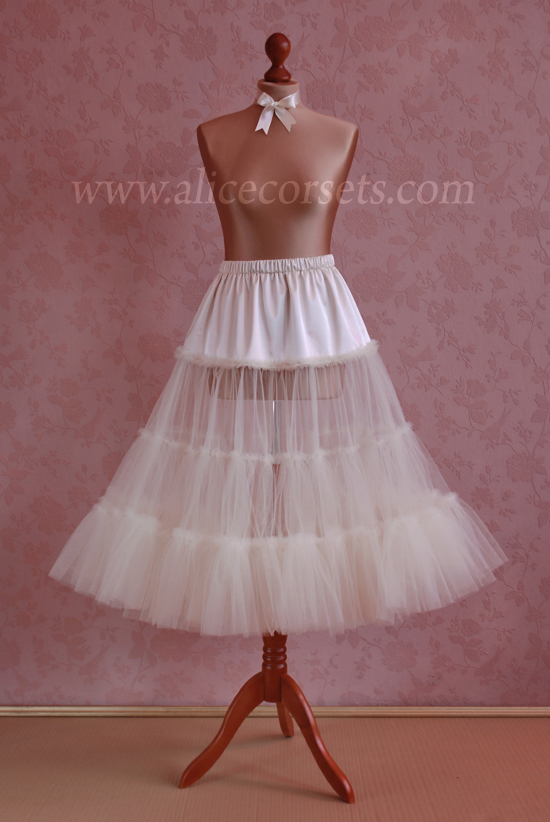 Сшить подъюбник для платья стиляги