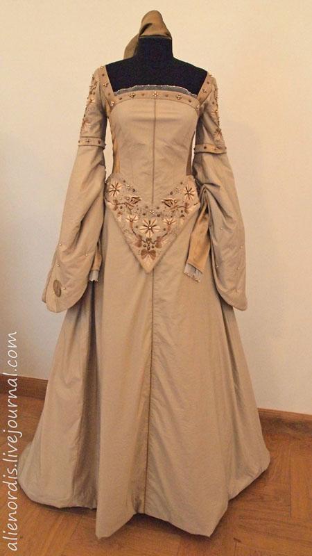 Выкройка платьев 16 века